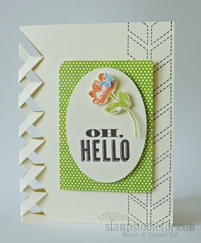 Lattice Edge and Oldie but a goodie!  See how to make this edge easily using your Simply Scored Tool. www.stampstodiefor.com