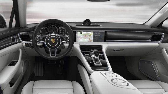 Интерьер Порше Панамера 2017 / Porsche Panamera 2017