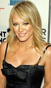Hilary Duff  Born	Hilary Erhard Duff September 28, 1987 (age 25) Houston, Texas, U.S.