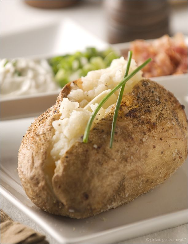 how to make baked potatos in the oven