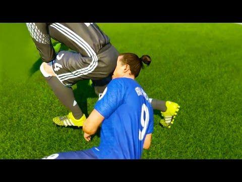 Foot - WTF - Ils reproduisent les bugs de Fifa 17 en vrai