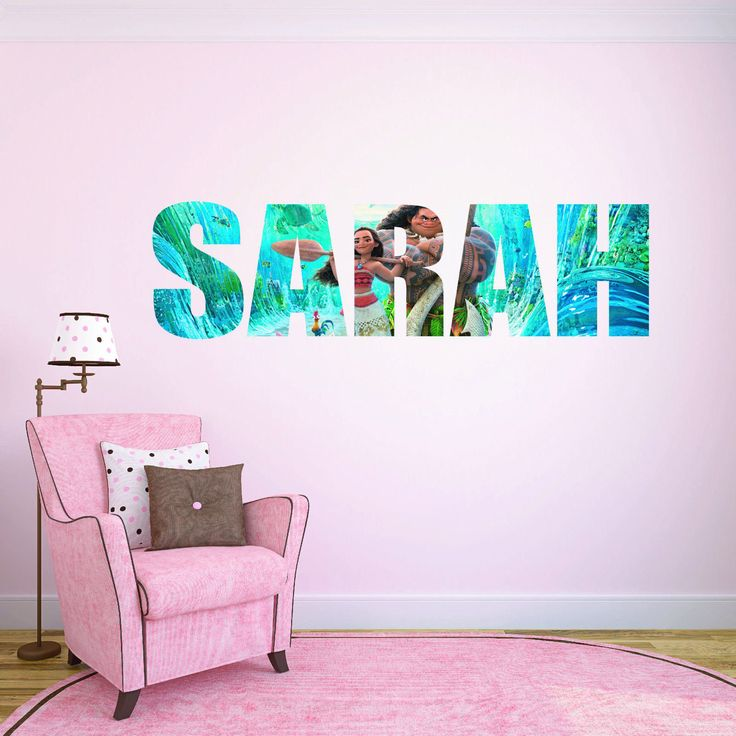 31 best personalised name childrens character wall stickers images