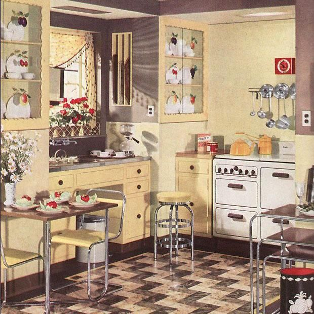 The lighting! Bradbury In The Media | Victorian Design and ... |Vintage Arts And Crafts Kitchen