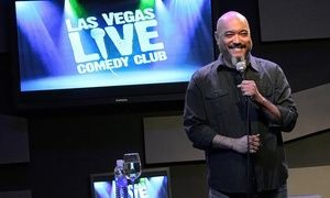 Groupon - Las Vegas Live Comedy Club at V Theater (Up to 71% Off) in V Theater. Groupon deal price: $28