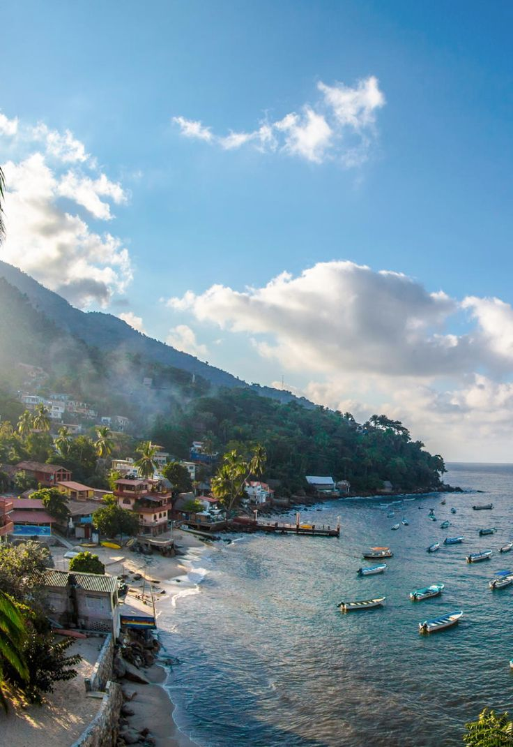 A great day trip from Puerto Vallarta is to Yelapa with secluded beaches, a…