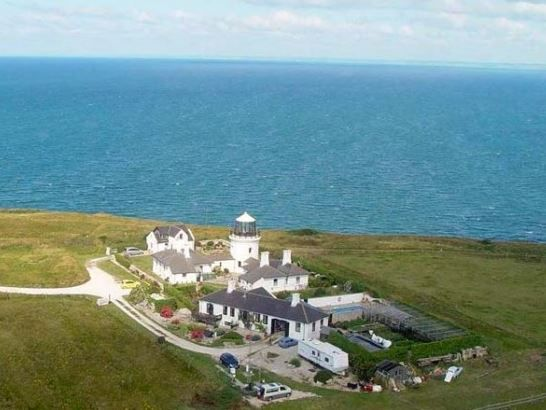The Old Higher Lighthouse, Portland, Weymouth, Dorset, England. Coast. Self Catering. Holiday. Travel. Accommodation.  Lighthouse. (Sleeps 1 - 4).