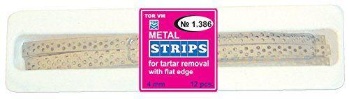 #DentalSupplies #Dental #Perforated Prophylactic Metal Strips for Tartar Removal TOR VM