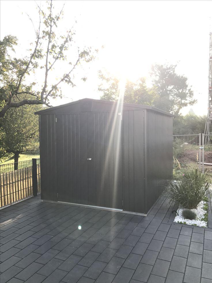 Unsere neue Gartenhütte von biohort.