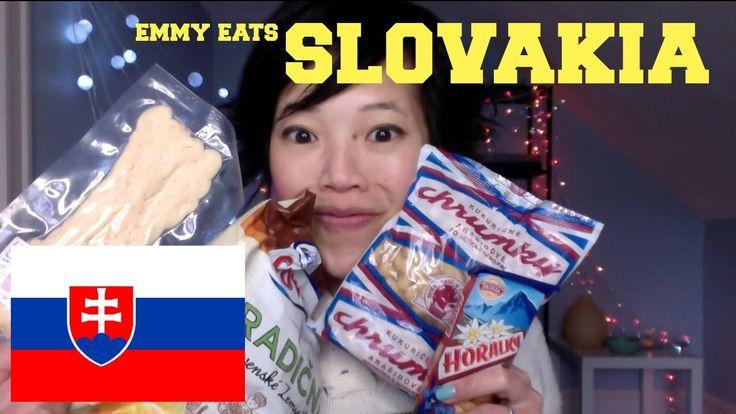 Great Emmy Eats Slovakia - tasting Slovak sweets, ,  #americantryinghungariancandy #amishfoodrecipe #candy #chinesecookiesrecipe #chocolate #Confectionery(TypeOfDish) #cookies #dumlingsrecipe #eat #Eating #emmy #emmymadeinj... #ethnicrecipe #indiancookiesrecipe #indiandamplingsrecipe #internationalbreadrecipe #maltesefoodrecipe #scandinaviancookiesrecipe #SlovakLanguage(HumanLanguage) #Slovakia(Country) #soulfoodrecipe #taste #tasting