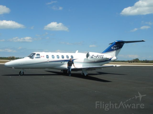 Cessna Citation CJ2 (C-FITC)
