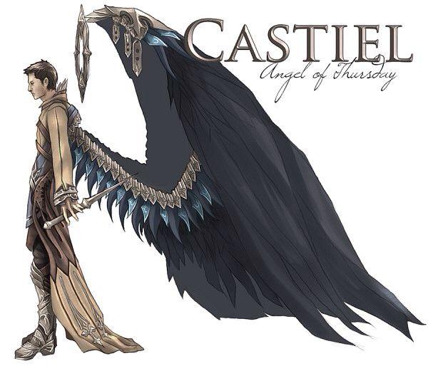 True form of Castiel   Castiel supernatural