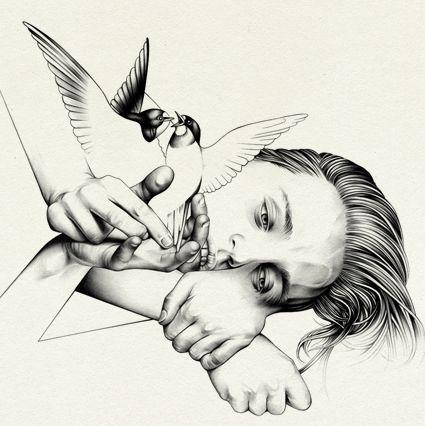 Birds, Hands & Hair.  Ricardo Fumanal.