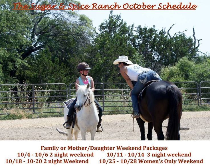 264 best the sugar spice ranch images on pinterest for Mother daughter weekend getaways