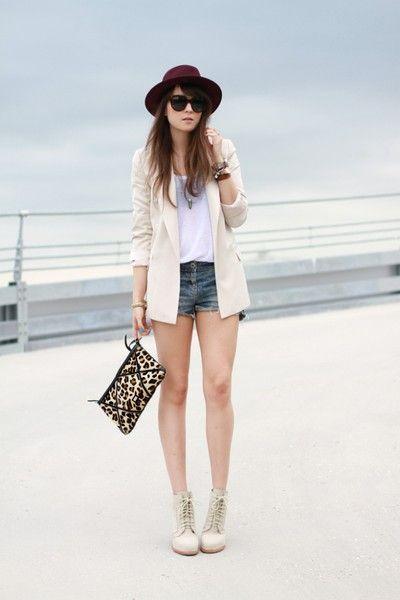 5 maneras de combinar un blazer blanco