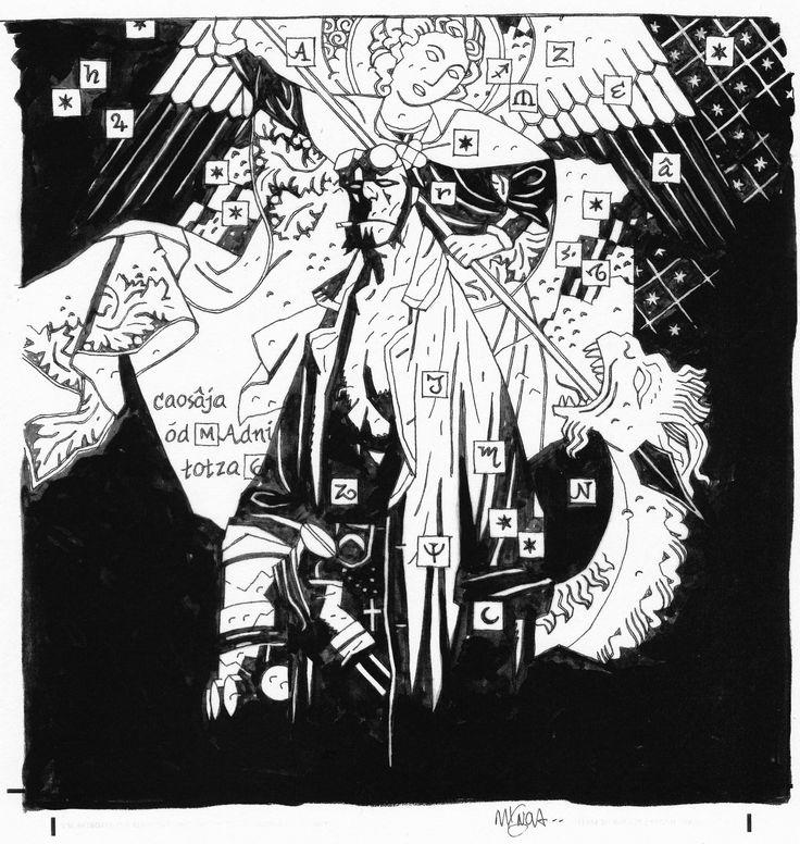 MIKE MIGNOLA 2008 HELLBOY COMPANION #1 COVER
