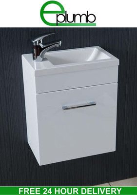 Small Vanity Sink Unit Rifco Platinum Wall Hung Vanity 1200mm