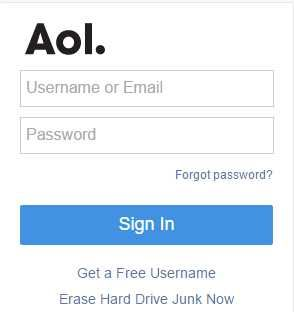 Aol commaillogin