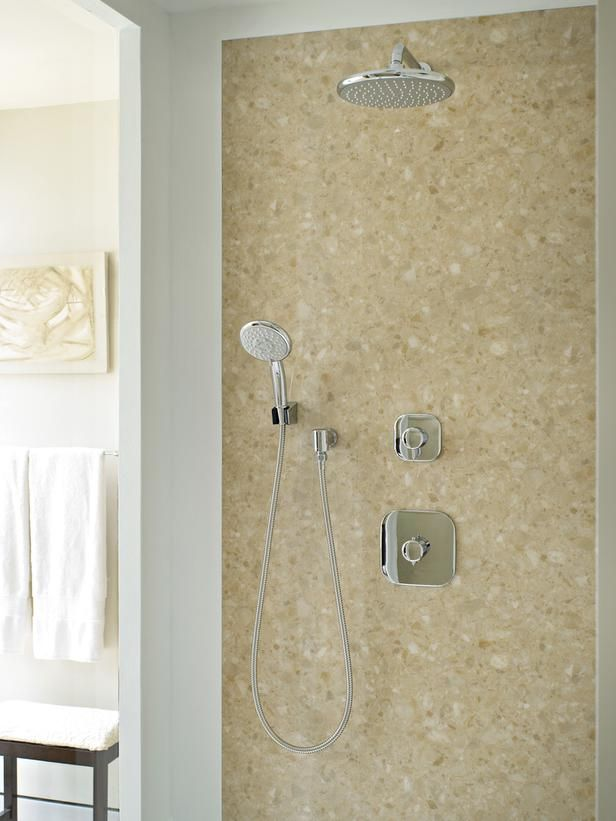 A hand held #shower in your #bathroom is never to be underestimated! It is extremely #useful for getting at hard to reach places like sandy feet after a day at the beach! Position it low to make it usable.