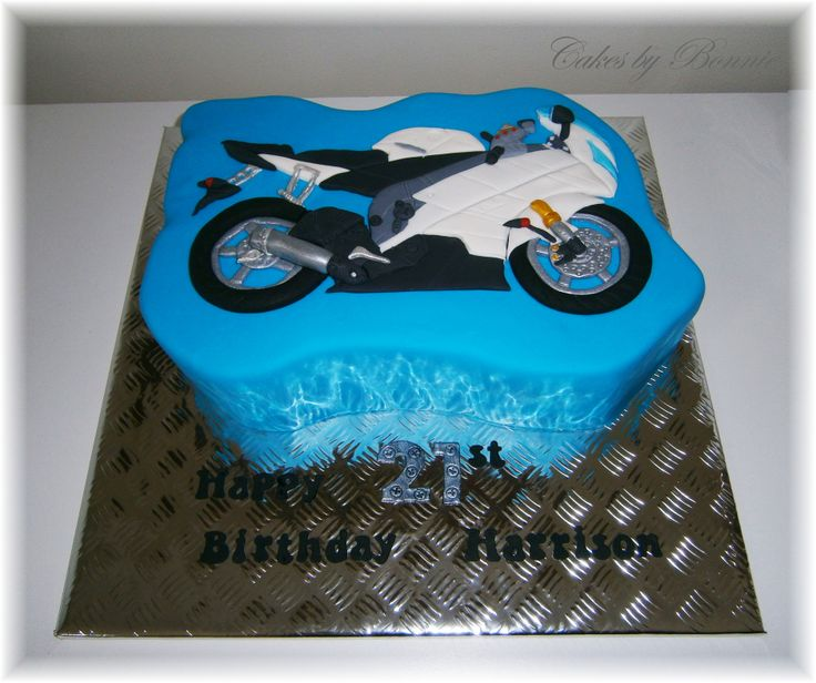 motorbike template for cake - yamaha yzf r6 cake motorbike cake cakes by bonnie