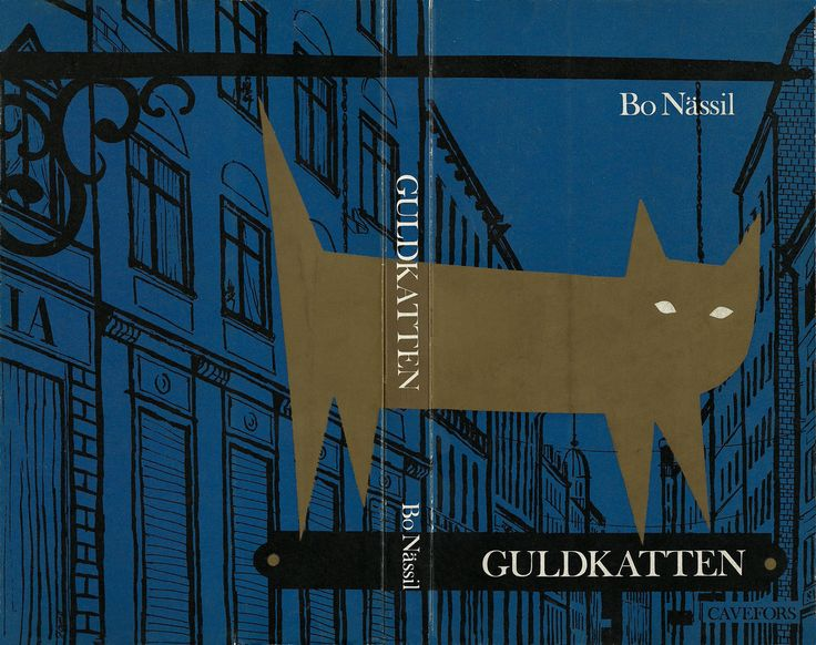 This book cover is attractive because of the contrast between the dark blue and the light brown. The double side cover has one picture to forms the background. The cat is a shadow except the white eyes shape. The blue can represent the feeling of silence and secrets.