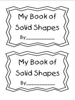 Solid Shapes Lesson Plan First Grade - solid figures manipulatives ...