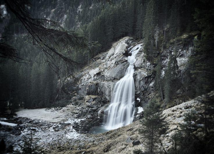 Krimmelské vodopády, Vysoké Taury, Rakousko