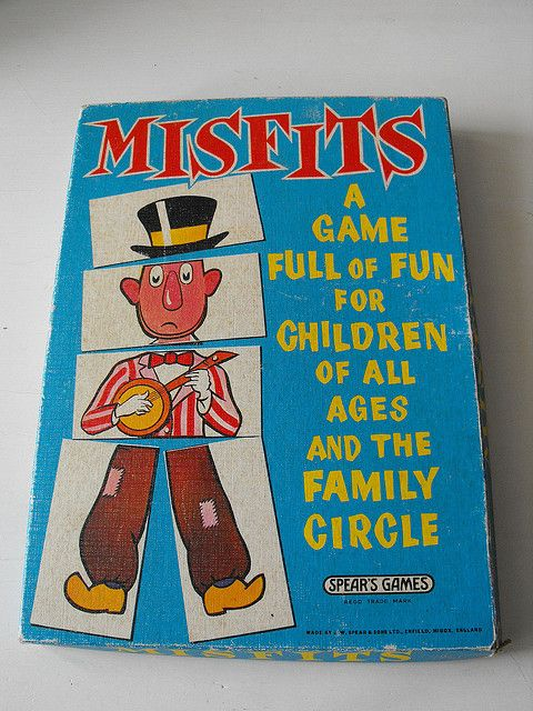 I adored this game. There was also a version at the local arcade, where you won different amounts of money, depending on which figure you managed to match up. Tuppence was the least you could win, so it wasn't as much of a con as most of these arcade machines.