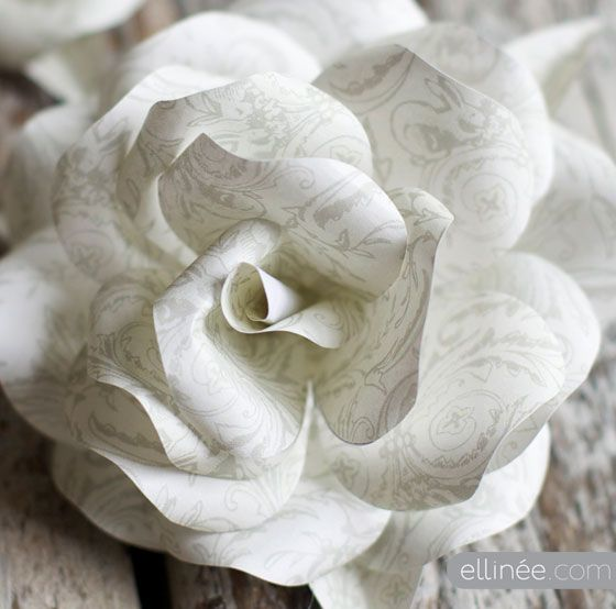 paper roseDiy Ideas, Paper Roses, Crafts Ideas, Diy Gift, Paper Flower, Rose Tutorial, Paper Crafts, Funny Shirts, Homemade Gift