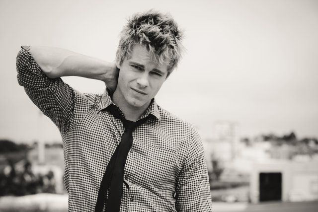 Luke Mitchell from Home and Away :) Why did he have to leave!!??