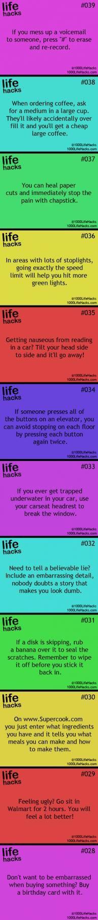 25 Useful Life Hacks | ifunnystuffs