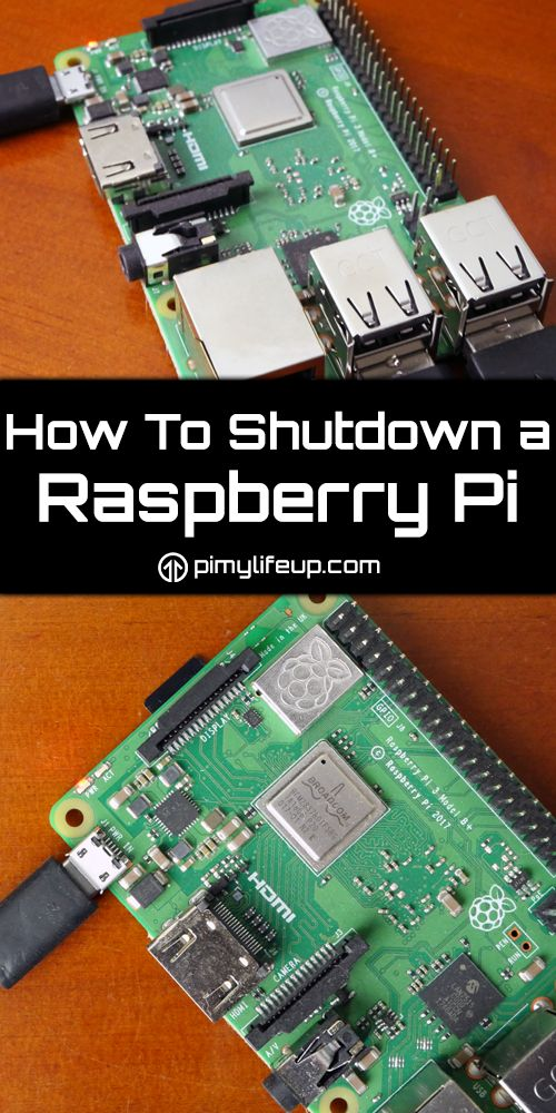How to Shutdown a Raspberry Pi Correctly