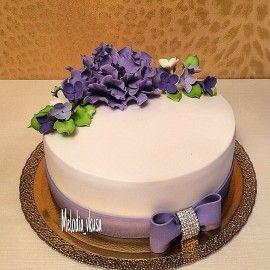 Свадебный торт Тонкий стиль.