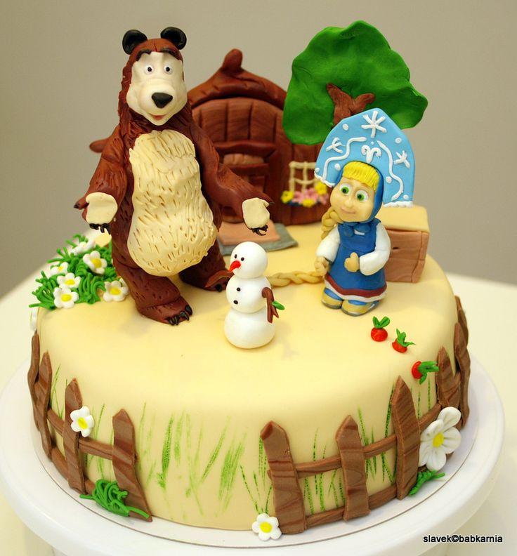 Masha i miedvied cake