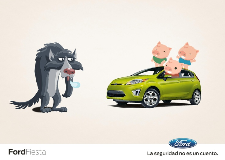 Ford Fiesta - Cochinitos. 1er lugar en el concurso Ford-Wepik   Por Julio Díaz, Fabrizio Flores, Alonso Pérez y Mónica Villarreal.