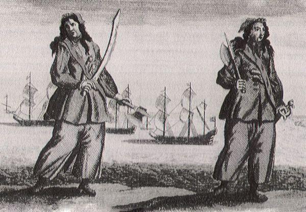 Feita de Poesia: Piratas Lésbicas: Anne Bonny e Mary Read - II