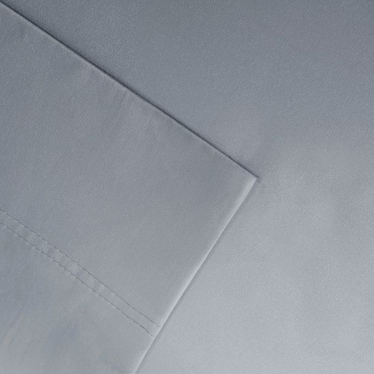 Sleep Philosophy 320 Thread Count Cotton Tencel Sheet Set, Grey