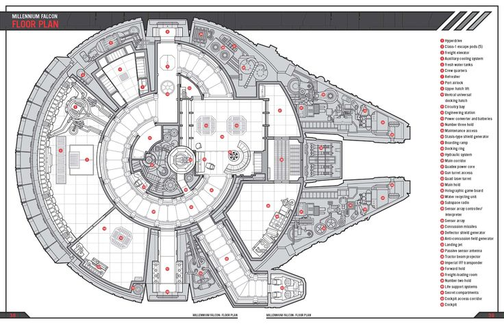 millennium falcon falcons and floor plans on pinterest