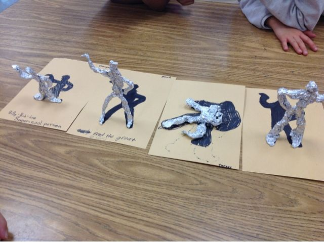 Fredric Remington - Mrs. Knight's Smartest Artists: Figure sculptures, 4th grade