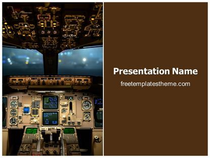 25 best free industrial powerpoint ppt templates images on get free plane cockpit powerpoint template and make a professional looking powerpoint presentation in plane cockpit powerpoint template ppt template edit toneelgroepblik Choice Image