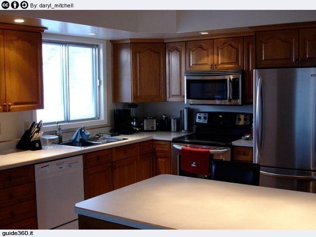 Come pulire la cucina