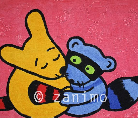 Hugs and Kisses by Zanimo on Etsy, $15.00
