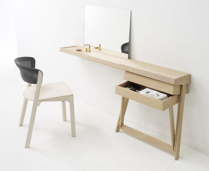 Bureau et coiffeuse par Shay Alkalay - Blog Deco Design
