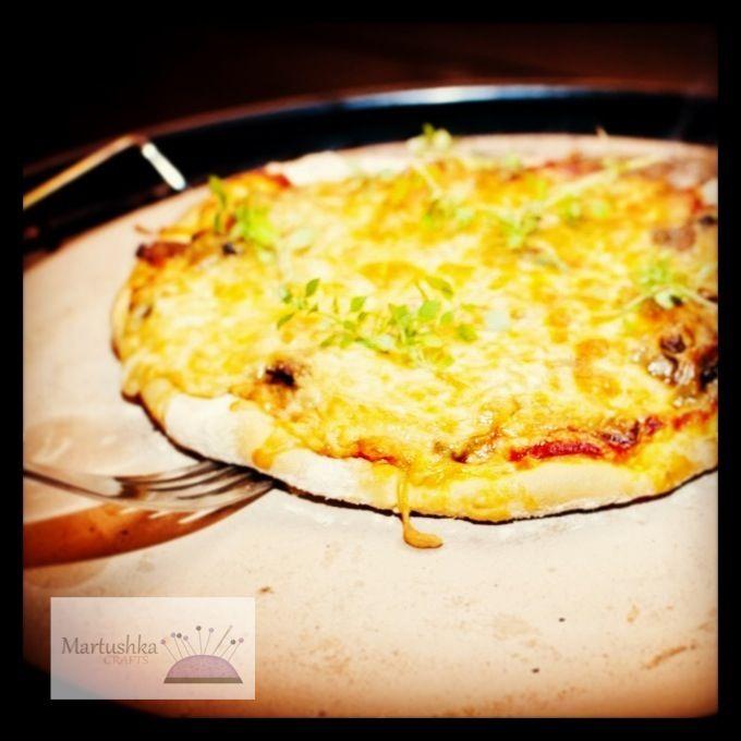 Pizza on Weber BBQ