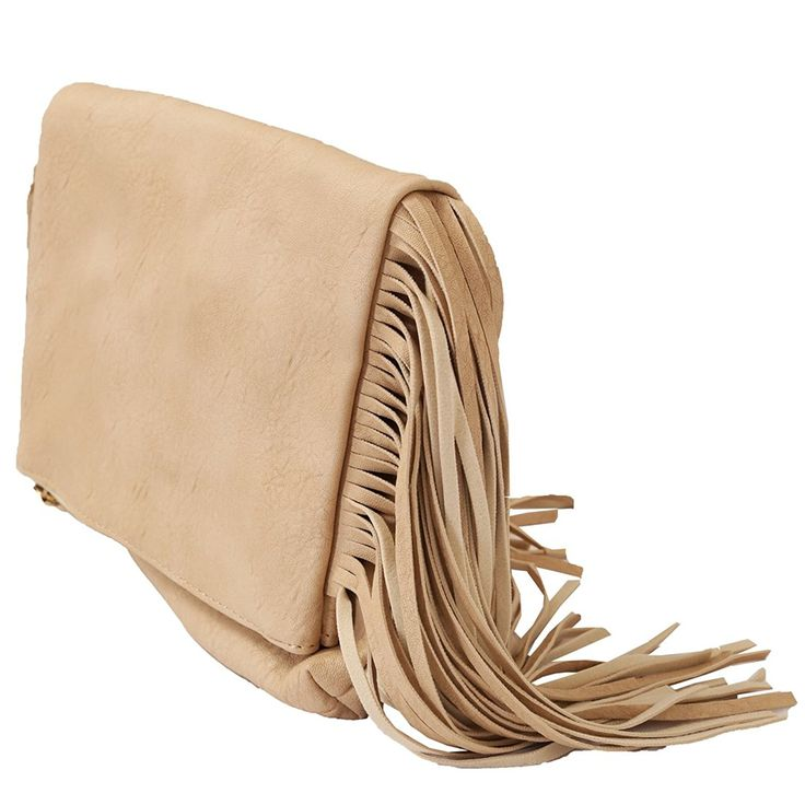Product description Woven with care, designed with purpose. This cute fringe Fold-Over Cross Body is the perfect grab-and-go bag when you're running around town or on vacation infused with fabulous texture . Add a touch of free-spirited style to your look with this fringe crossbody. Crafted from PU, it's super lightweight and just the right size for your phone, lipstick, keys and sunglasses. Handles/Strap: Adjustable flat shoulder strap with slide buckle. Exterior: Front flap pocket with…