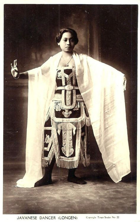 1920s Indonesia - Javanese Dancer