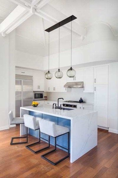 Pop of color kitchen islands you need to see photos
