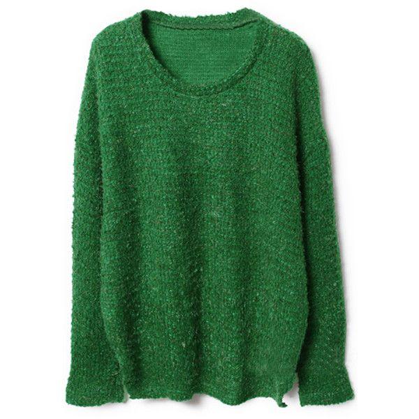 Furcal Design Green Jumper ($53) ❤ liked on Polyvore