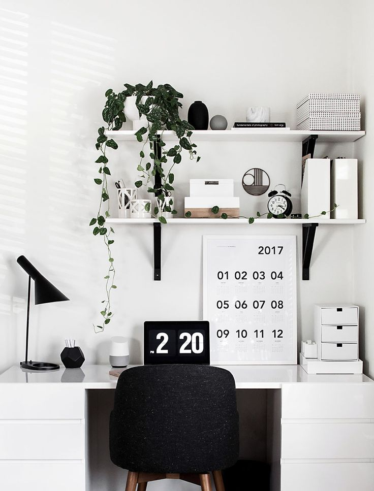 Desk Organization Updates - Homey Oh My, SOHO Home Office, Study Room ideas via @sunjayjk