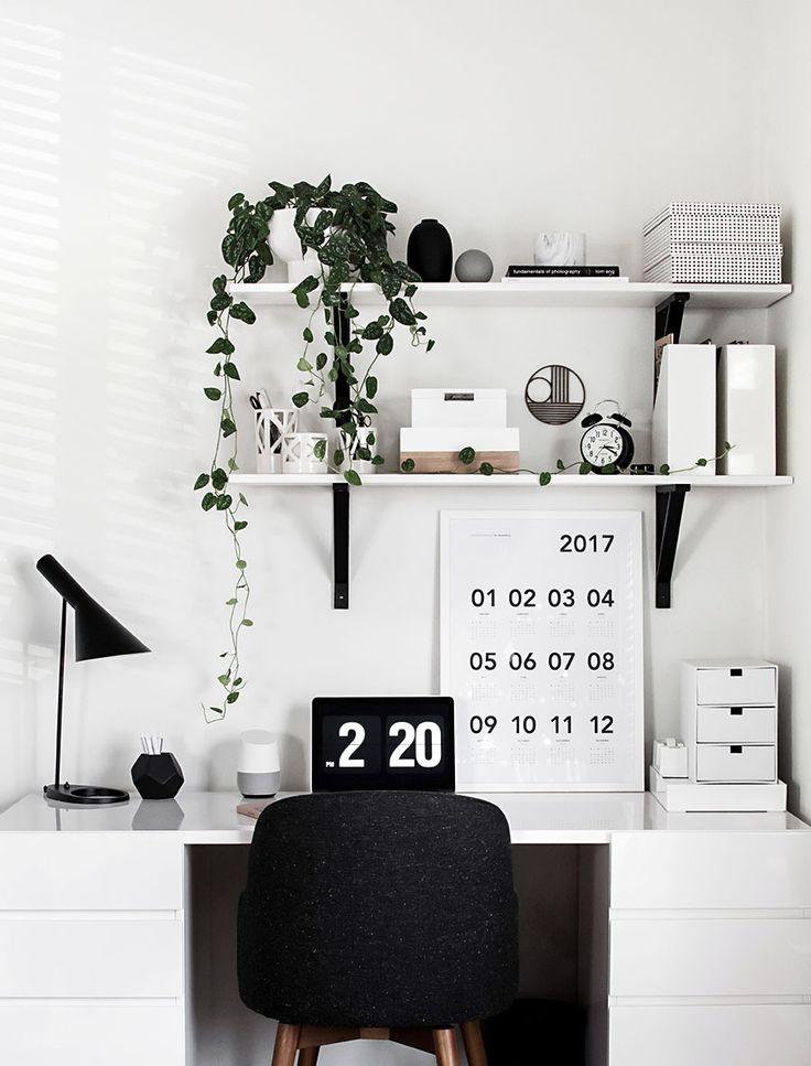 Desk Organization Updates - Homey Oh My