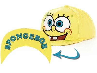 """""""SPONGEBOB"""" Big Face Snapback I designed for Bioworld. Available at Lids/ Hat World!"""